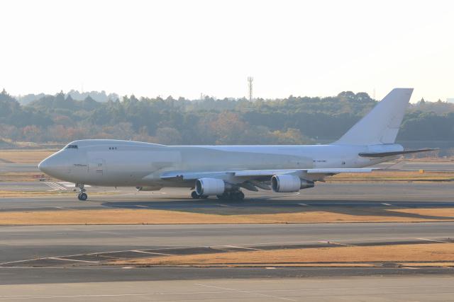 inyoさんが、成田国際空港で撮影したアトラス航空 747-47UF/SCDの航空フォト(飛行機 写真・画像)