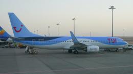 singapore346さんが、フルガダ国際空港で撮影したトゥイ・エアラインズ・ベルギー 737-86Jの航空フォト(飛行機 写真・画像)