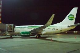 singapore346さんが、デュッセルドルフ国際空港で撮影したゲルマニア 737-76Jの航空フォト(飛行機 写真・画像)