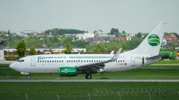 singapore346さんが、シュトゥットガルト空港で撮影したゲルマニア 737-75Bの航空フォト(飛行機 写真・画像)