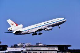 パール大山さんが、成田国際空港で撮影した大韓航空 DC-10-30の航空フォト(飛行機 写真・画像)
