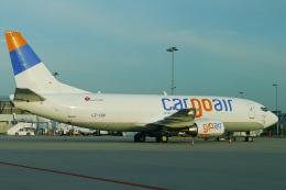 singapore346さんが、シュトゥットガルト空港で撮影したカーゴ・エア 737-35B(SF)の航空フォト(飛行機 写真・画像)