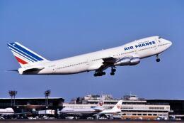 パール大山さんが、成田国際空港で撮影したエールフランス航空 747-228Bの航空フォト(飛行機 写真・画像)