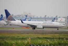 LEGACY-747さんが、成田国際空港で撮影したユナイテッド航空 737-824の航空フォト(飛行機 写真・画像)
