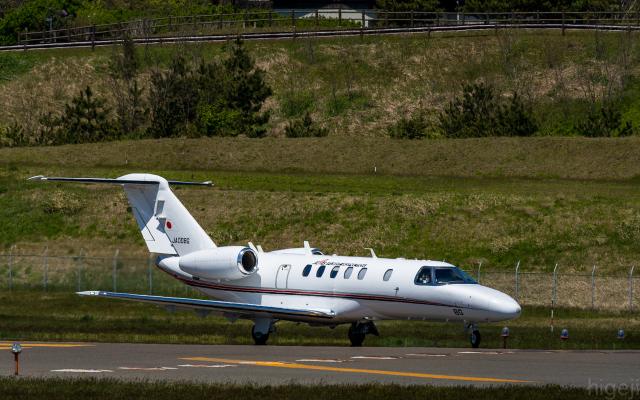 ひげじいさんが、庄内空港で撮影した国土交通省 航空局 525C Citation CJ4の航空フォト(飛行機 写真・画像)