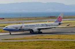 天心さんが、関西国際空港で撮影したチャイナエアライン A330-302の航空フォト(飛行機 写真・画像)