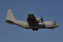 350JMさんが、厚木飛行場で撮影したアメリカ海兵隊 KC-130T Herculesの航空フォト(飛行機 写真・画像)