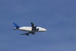 ゆなりあさんが、中部国際空港で撮影したボーイング 747-409(LCF) Dreamlifterの航空フォト(飛行機 写真・画像)