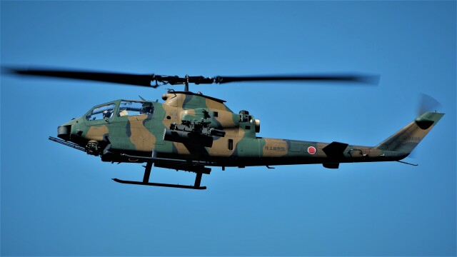 hidetsuguさんが、札幌飛行場で撮影した陸上自衛隊 AH-1Sの航空フォト(飛行機 写真・画像)