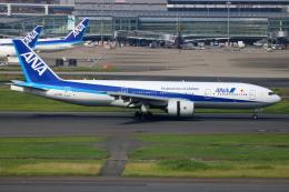 ▲®さんが、羽田空港で撮影した全日空 777-281の航空フォト(飛行機 写真・画像)