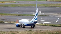 誘喜さんが、羽田空港で撮影したラスベガス サンズ 737-7EL BBJの航空フォト(飛行機 写真・画像)
