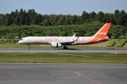 OMAさんが、成田国際空港で撮影したアビアスター 757-223(PCF)の航空フォト(飛行機 写真・画像)