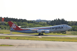 TAKA-Kさんが、成田国際空港で撮影したカーゴルクス 747-8R7F/SCDの航空フォト(飛行機 写真・画像)