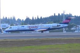 KT 327@KOJさんが、鹿児島空港で撮影したアイベックスエアラインズ CL-600-2C10 Regional Jet CRJ-702の航空フォト(飛行機 写真・画像)