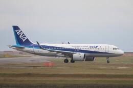 hanatomo735さんが、岩国空港で撮影した全日空 A320-271Nの航空フォト(飛行機 写真・画像)