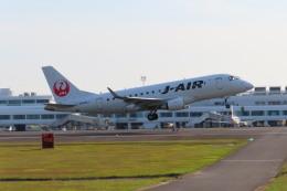 KT 327@KOJさんが、鹿児島空港で撮影したジェイエア ERJ-170-100 (ERJ-170STD)の航空フォト(飛行機 写真・画像)