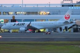 KT 327@KOJさんが、鹿児島空港で撮影したジェイエア ERJ-190-100(ERJ-190STD)の航空フォト(飛行機 写真・画像)