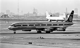 Y.Todaさんが、羽田空港で撮影したフライング・タイガー・ライン DC-8-63AFの航空フォト(飛行機 写真・画像)