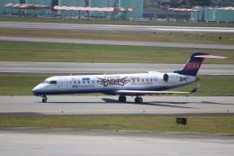 なかすぃ~さんが、伊丹空港で撮影したアイベックスエアラインズ CL-600-2C10 Regional Jet CRJ-702の航空フォト(飛行機 写真・画像)
