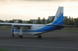 Hiro-hiroさんが、調布飛行場で撮影した新中央航空 BN-2A-20 Islanderの航空フォト(飛行機 写真・画像)