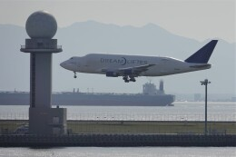 JUTENさんが、中部国際空港で撮影したボーイング 747-409(LCF) Dreamlifterの航空フォト(飛行機 写真・画像)