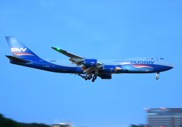 雲霧さんが、成田国際空港で撮影したシルクウェイ・ウェスト・エアラインズ 747-83QFの航空フォト(飛行機 写真・画像)