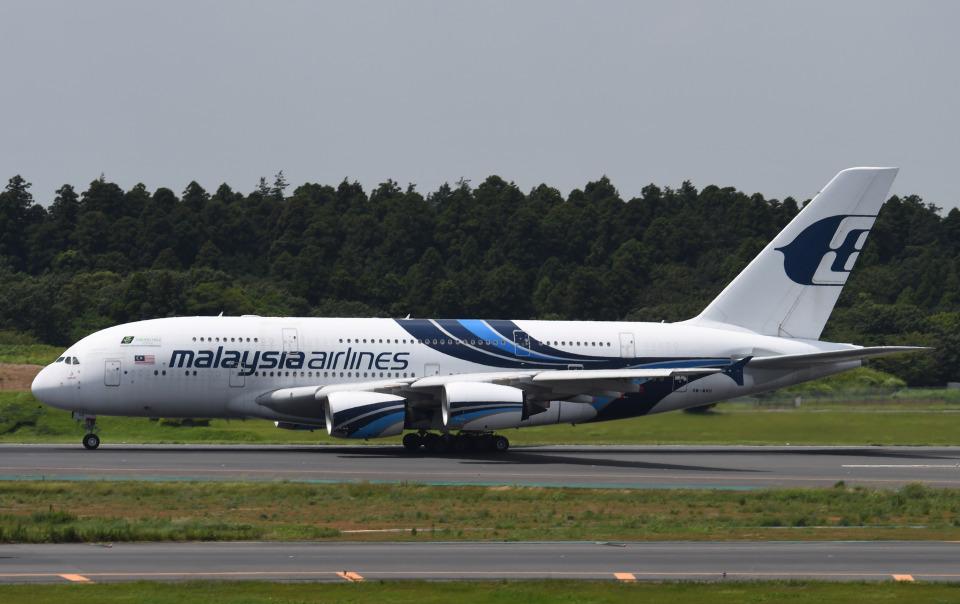 チャーリーマイクさんのマレーシア航空 Airbus A380 (9M-MND) 航空フォト