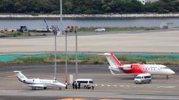 誘喜さんが、羽田空港で撮影したFAI レント・ア・ジェット CL-600-2B16 Challenger 604の航空フォト(飛行機 写真・画像)