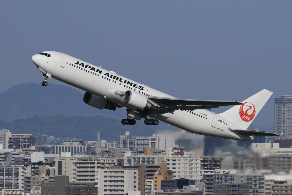 aki241012さんの日本航空 Boeing 767-300 (JA602J) 航空フォト