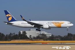 tassさんが、成田国際空港で撮影したMIATモンゴル航空 767-34G/ERの航空フォト(飛行機 写真・画像)