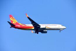 まいけるさんが、スワンナプーム国際空港で撮影した海南航空 737-84Pの航空フォト(飛行機 写真・画像)