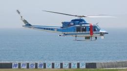 cathay451さんが、神戸空港で撮影した新潟県警察 412EPの航空フォト(飛行機 写真・画像)
