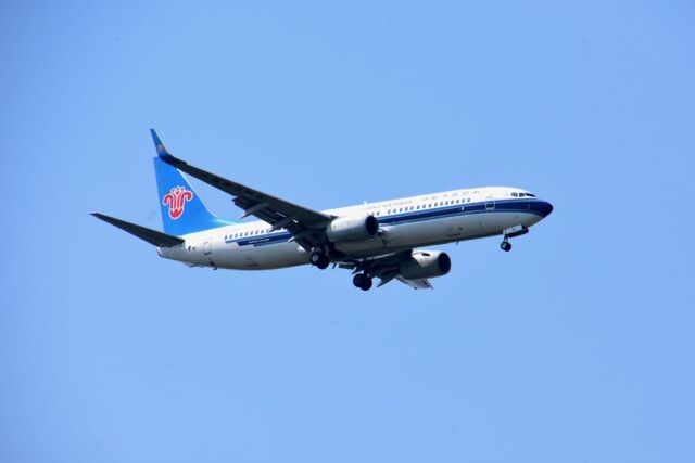 まいけるさんが、スワンナプーム国際空港で撮影した中国南方航空 737-81Bの航空フォト(飛行機 写真・画像)