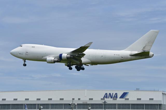 パンダさんが、成田国際空港で撮影したアトラス航空 747-4B5F/ER/SCDの航空フォト(飛行機 写真・画像)