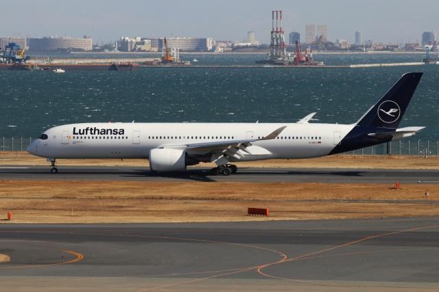 磐城さんが、羽田空港で撮影したルフトハンザドイツ航空 A350-941の航空フォト(飛行機 写真・画像)