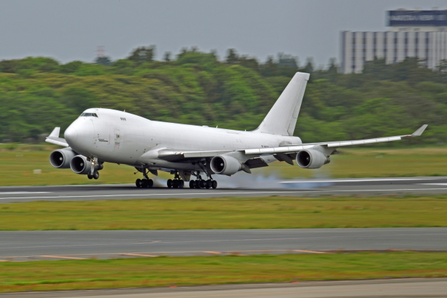 Souma2005さんが、成田国際空港で撮影したアトラス航空 747-4KZF/SCDの航空フォト(飛行機 写真・画像)