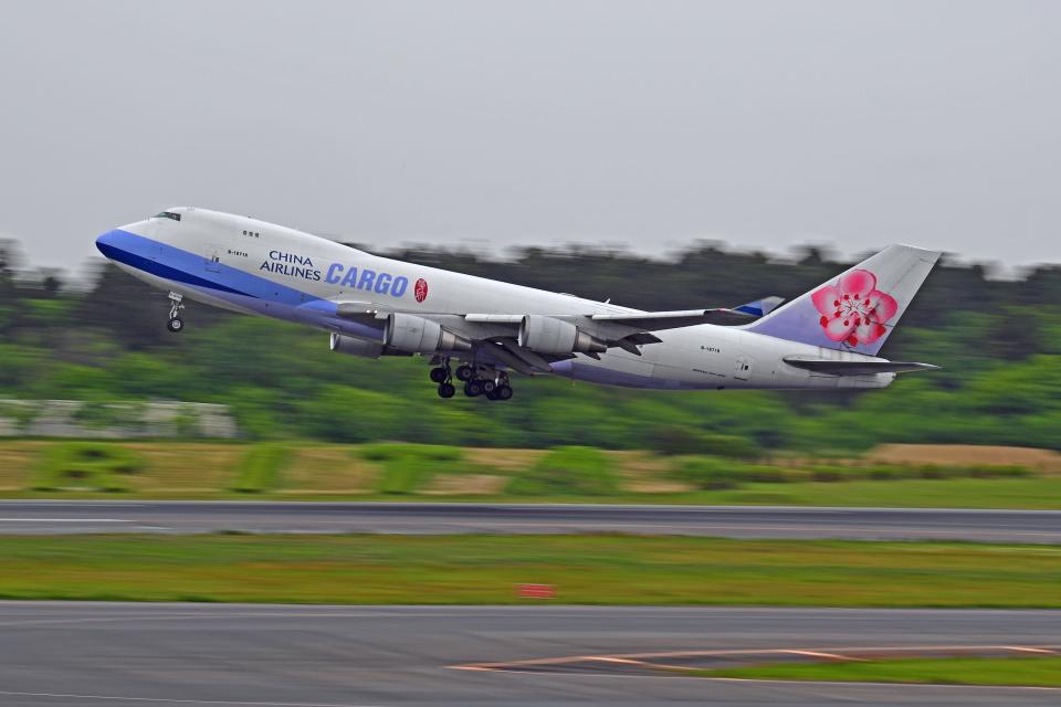 Souma2005さんのチャイナエアライン Boeing 747-400 (B-18718) 航空フォト