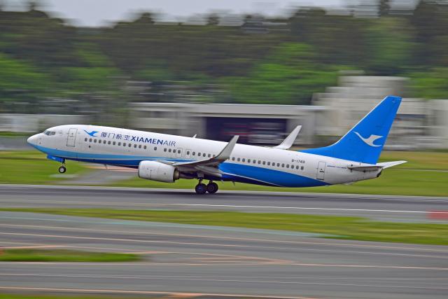Souma2005さんが、成田国際空港で撮影した厦門航空 737-85Cの航空フォト(飛行機 写真・画像)