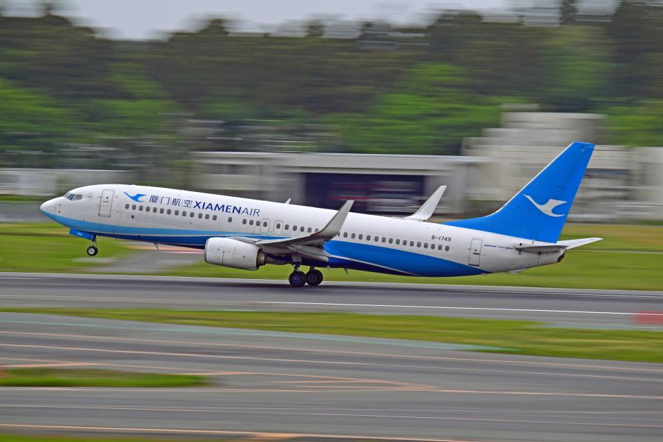 Souma2005さんの厦門航空 Boeing 737-800 (B-1749) 航空フォト