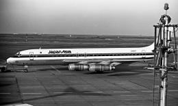 Y.Todaさんが、羽田空港で撮影した日本アジア航空 DC-8-53の航空フォト(飛行機 写真・画像)
