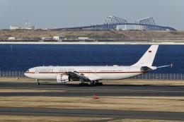 flying_horseさんが、羽田空港で撮影したドイツ空軍 A340-313Xの航空フォト(飛行機 写真・画像)