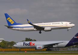 雲霧さんが、成田国際空港で撮影した中国郵政航空 737-81Q(BCF)の航空フォト(飛行機 写真・画像)
