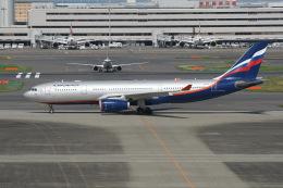 N.tomoさんが、羽田空港で撮影したアエロフロート・ロシア航空 A330-243の航空フォト(飛行機 写真・画像)