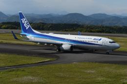 N.tomoさんが、静岡空港で撮影した全日空 737-881の航空フォト(飛行機 写真・画像)