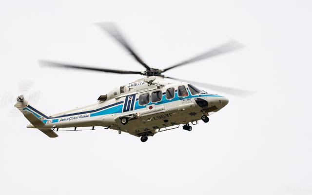 ひげじいさんが、庄内空港で撮影した海上保安庁 AW139の航空フォト(飛行機 写真・画像)