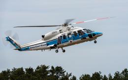 ひげじいさんが、庄内空港で撮影した海上保安庁 S-76Dの航空フォト(飛行機 写真・画像)