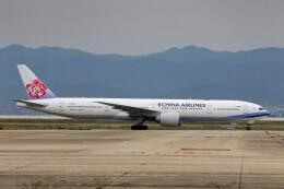 PW4090さんが、関西国際空港で撮影したチャイナエアライン 777-309/ERの航空フォト(飛行機 写真・画像)