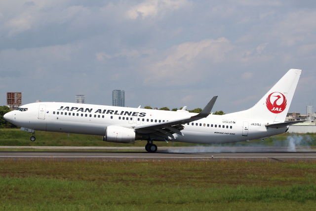 セブンさんが、伊丹空港で撮影した日本航空 737-846の航空フォト(飛行機 写真・画像)
