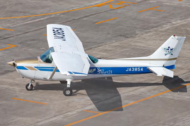A.Tさんが、名古屋飛行場で撮影したスカイシャフト 172N Skyhawk IIの航空フォト(飛行機 写真・画像)