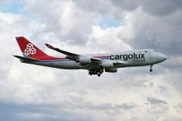OMAさんが、成田国際空港で撮影したカーゴルクス・イタリア 747-4R7F/SCDの航空フォト(飛行機 写真・画像)